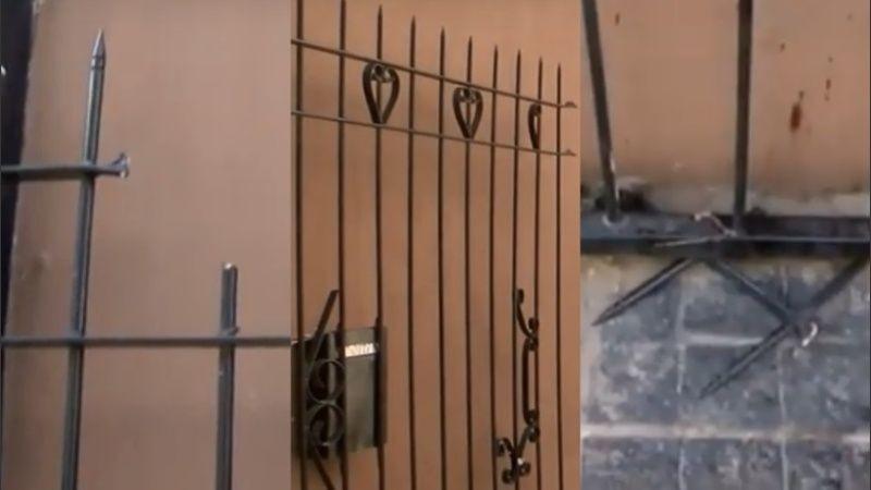 Santa Fe: Saltó la reja para hablar con su ex y quedó enganchado: vecinos creyeron que era ladrón
