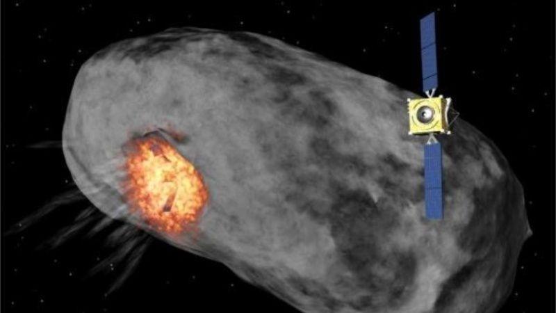 La Nasa estrellará una nave espacial contra un asteroide